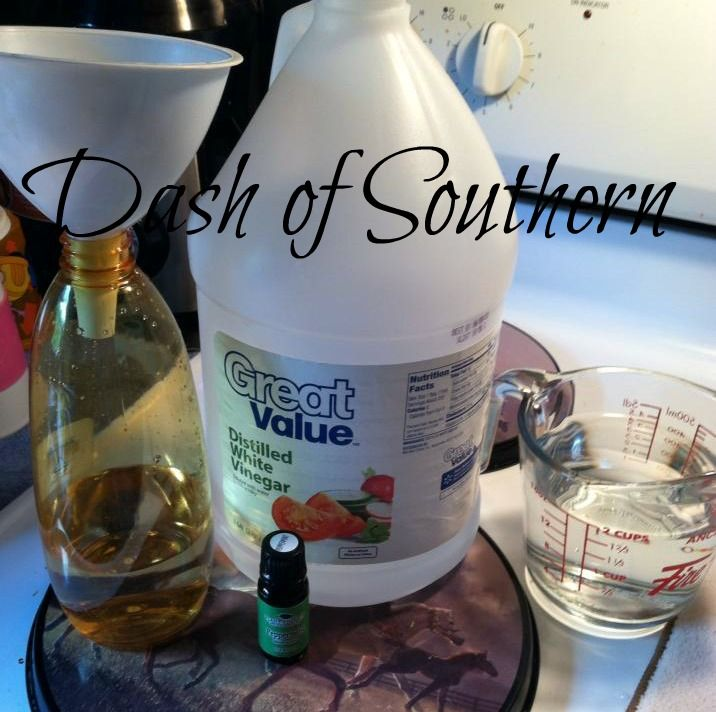 Dash Of Southern: Natural Tick Repellent for Humans - vinegar,water, peppermint essential oil.