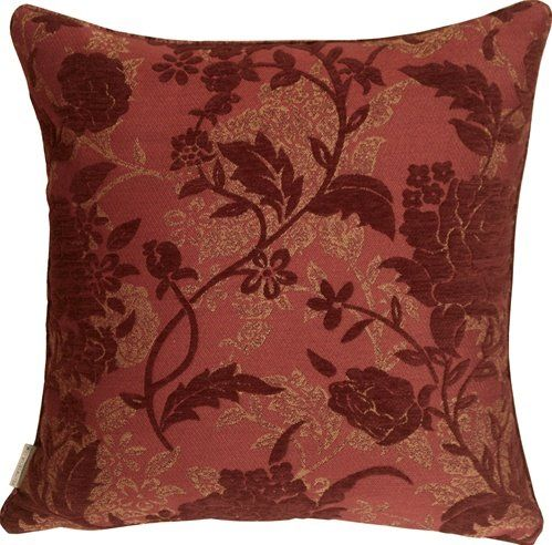 Traditional Floral Throw Pillow