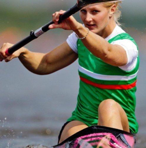 Lani Belcher - Canoeist. Women's team K2 500m.