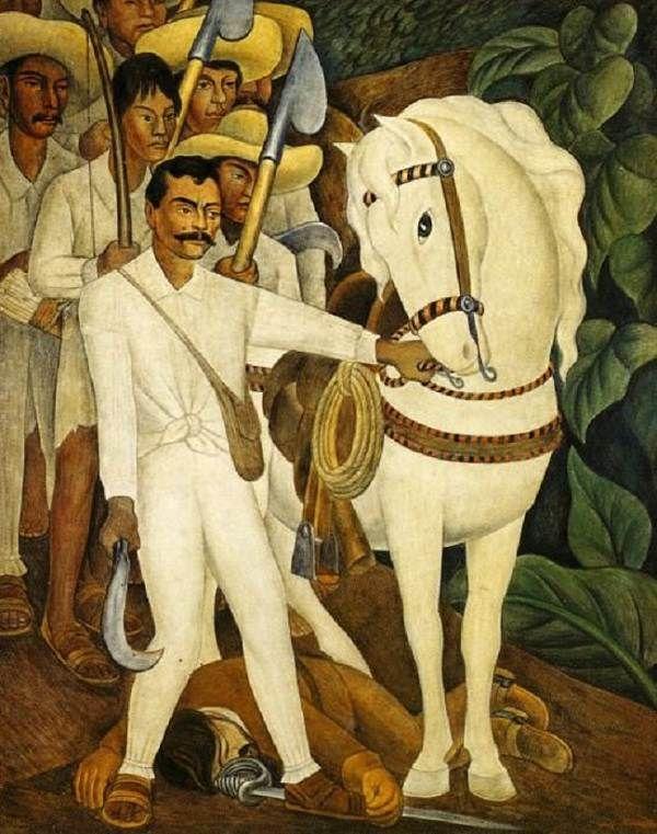 Diego Rivera Zapata painting www.robinrile.com