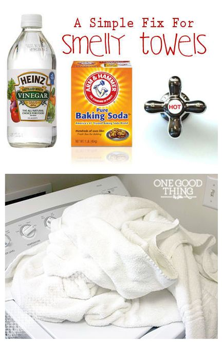 A Simple Fix For Smelly Towels!