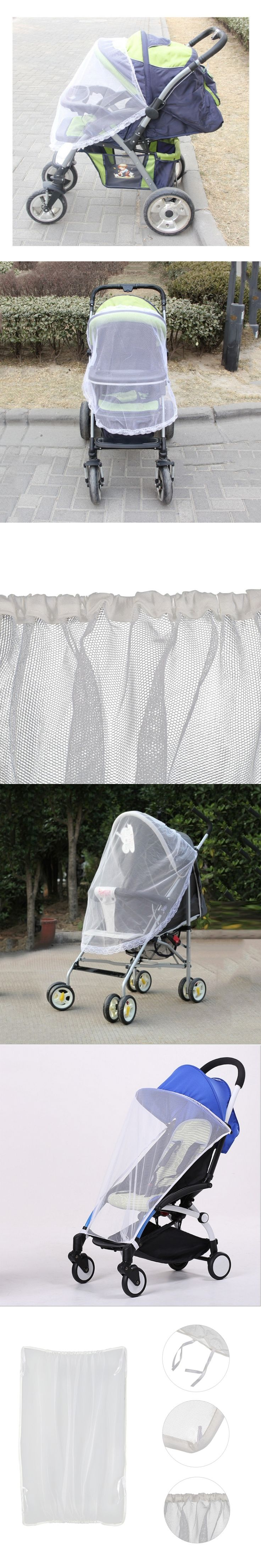 Summer Newborn High Density Anti-Mosquito Nets Twin Baby Stroller Children's Stroller Baby Car Trolley Special Nets