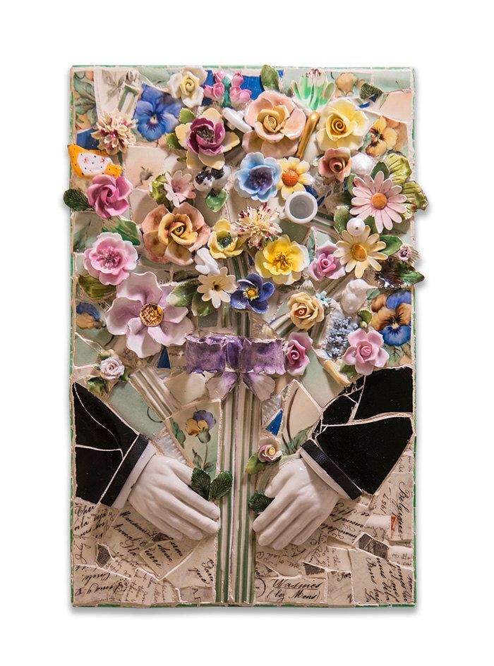 499 best Mosaic Flowers and bouquets images on Pinterest | Mosaic ...