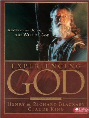 """Experiencing God Bible Study by Henry Blackaby.  This is the """"book"""" that started my walk.  I still read the devotional every day."""
