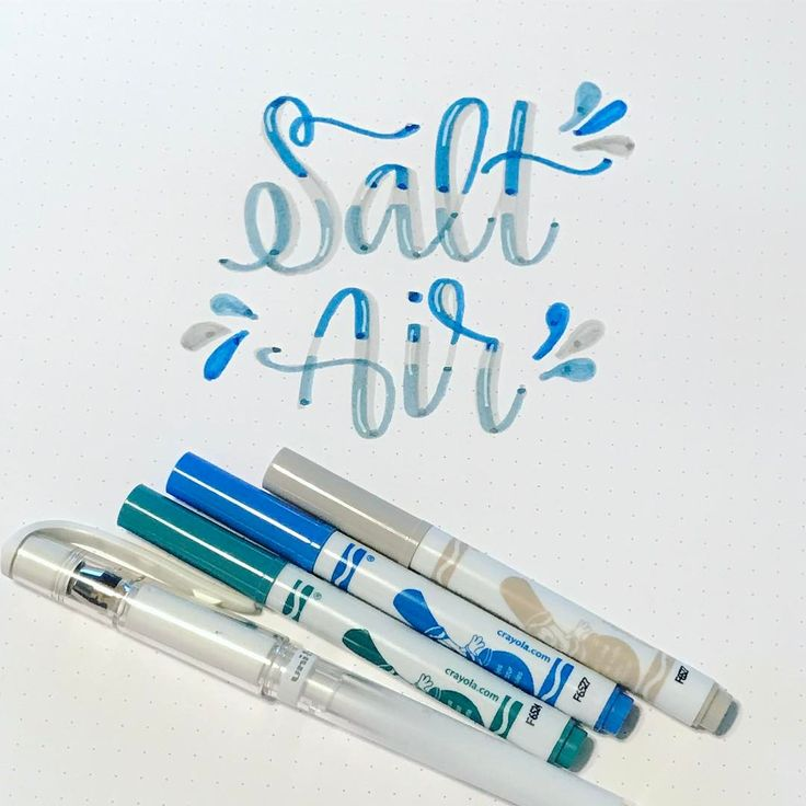 Still shot of the previous post! I seriously can't stop with the @crayola ! 💙🌊💙 #socalletters  @the_lemonade_store @thediyday .  .  .  #type #brushtype #penandink #handfont #moderncalligraphy #calligraphy #brushcalligraphy #handwriting #brushlettering #brushlettered #brushletter #letter #handlettered #typography #handlettering #lettering #handtype #brushtype #brushscript #dndchallenge #togetherweletter #rockyourhandwriting #bujo #bulletjournal #bulletjournaljunkies #crayolacalligraphy…
