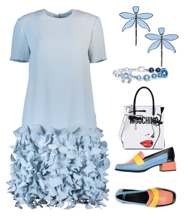 """""""Untitled #177"""" by denisapurple on Polyvore featuring Catherine Regehr, Camper, Moschino, Tory Burch and Chanel"""