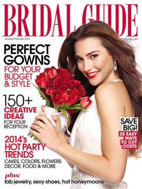 17 best top wedding magazines images on pinterest wedding blog wedding magazine bridal guide junglespirit Images
