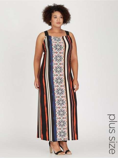 Платья для полных женщин бренда из ЮАР Spree, весна-лето 2017