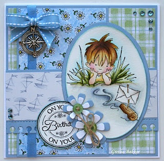Gretha Bakker Blog. Lili of the Valley stamp