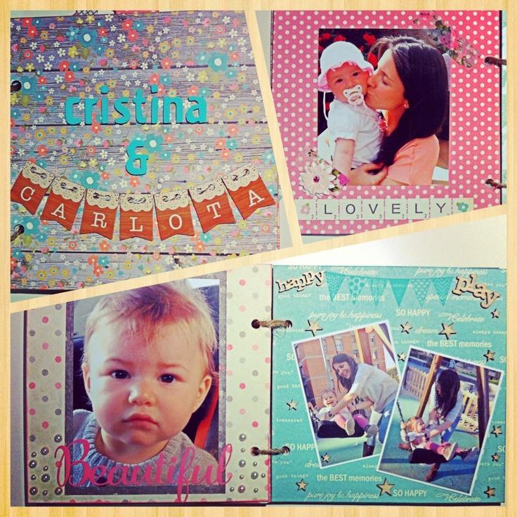 Minialbum scrap Cristina