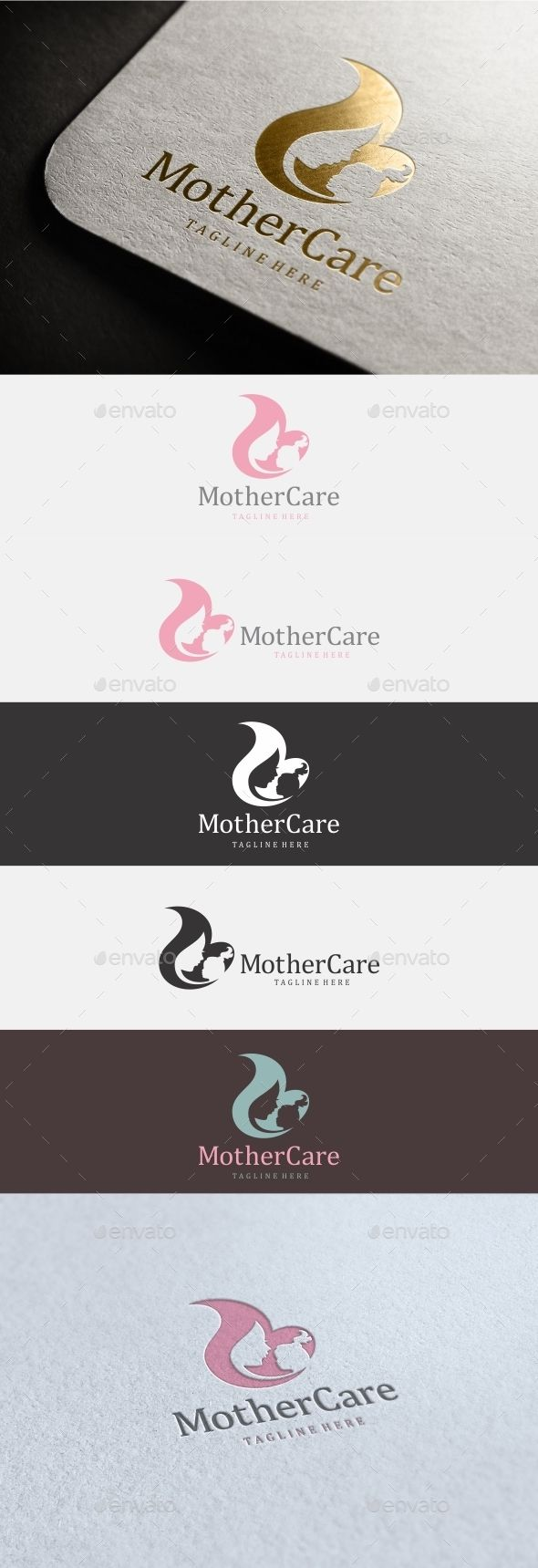 Mother Care Logo Design Template Vector #logotype Download it here: http://graphicriver.net/item/mother-care-logo/11891505?s_rank=1472?ref=nexion