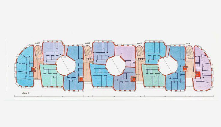 vallecas housing, plan, CRAB