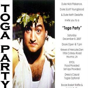 8 Best TOGA TOGA TOGA Austins 21 St B Day Party Ideas Images On
