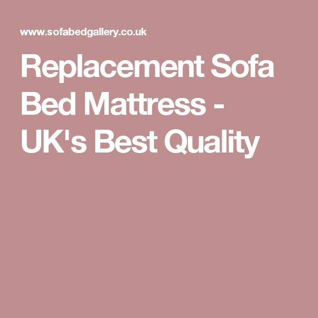 replacement sofa bed mattress uks best quality - Best Sofa Bed Mattress