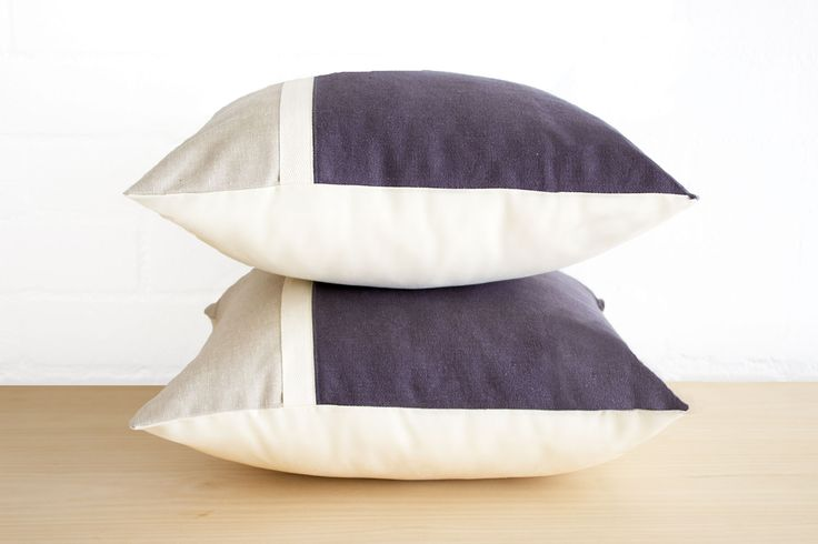 The perfect plain co-ordinate to the Bungalow storm cushion. Equally stylish on its own! Hemp organic cotton blend.