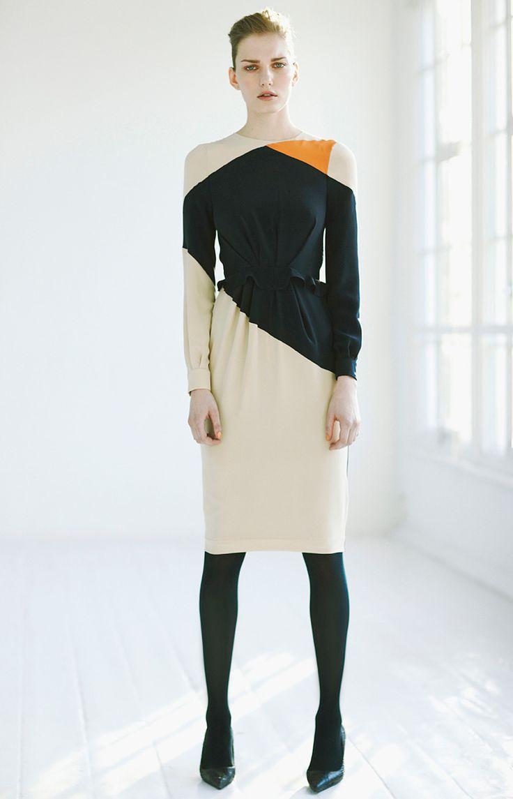 Preen: Green Collection, Preen Pre Fal, Near Fal 2012, Runway Fashion, 2012 Prefal, Dresses Design, Geometric Shape, Colors Blocks, Work Dresses