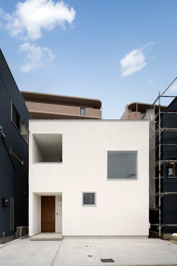 白壁の家   注文住宅なら建築設計事務所 フリーダムアーキテクツデザイン