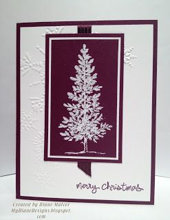 Good Tree - http://mydianedesigns.blogspot.com/, Lovely As A Tree, Good Greetings, Stampin' Up!