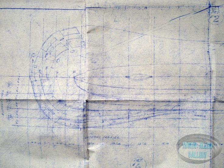 Movie Seaview Miniature Blueprint