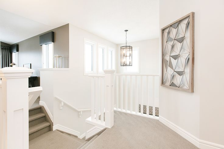 This split staircase is perfect for dividing playtime with bedtime