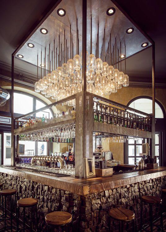 67 best lounge bar design images on pinterest for Deco lounge bar restaurant