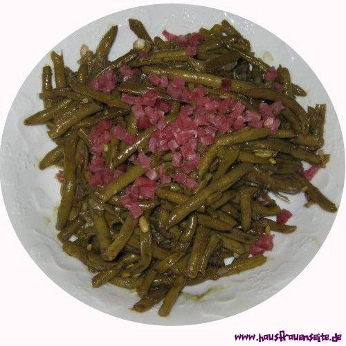 superfeiner Bohnensalat - Salatrezept mit Bild hier kommt ein super schneller, feiner Bohnensalat laktosefrei glutenfrei
