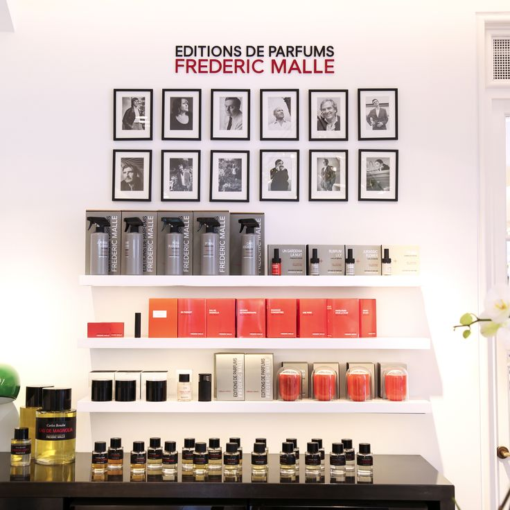A wall of Frederic Malle. Inside Mecca Cosmetica Toorak Road's luxurious Perfumeria.