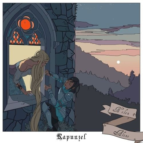 The tower was tall and covered in briars but the brave warrior princess climbed it anyway for love of the beautiful Faerie maiden… ! Aline and Helen find themselves in Rapunzel in one of mine and Cassandra Jean's fairytale/Shadowhunter mashups!...