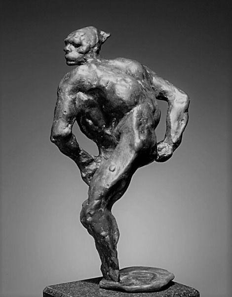 Auguste Rodin, Nijinsky, 1912  Bronze on ArtStack #auguste-rodin #art