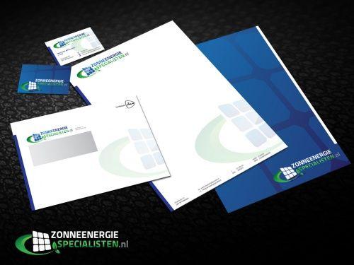 Logo en huisstijl voor nieuw bedrijf actief in de zonne energie
