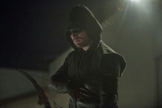 Oliver as the Arrow