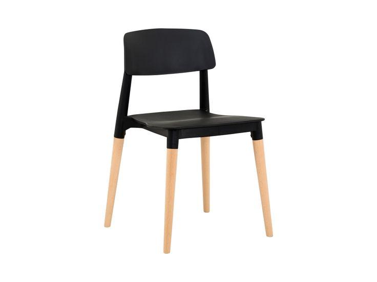 FIKA Stol Sort/Træben i gruppen Indendørs / Stole / Spisestole hos Furniturebox (100-70-86468)
