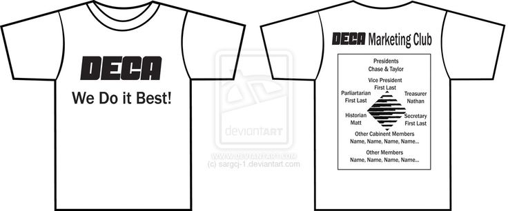 Deca Club T-Shirt Design by sargcj-1 on deviantART