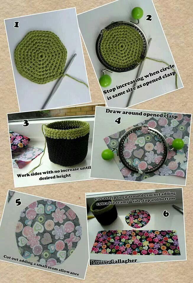 Crochet coin purse 1