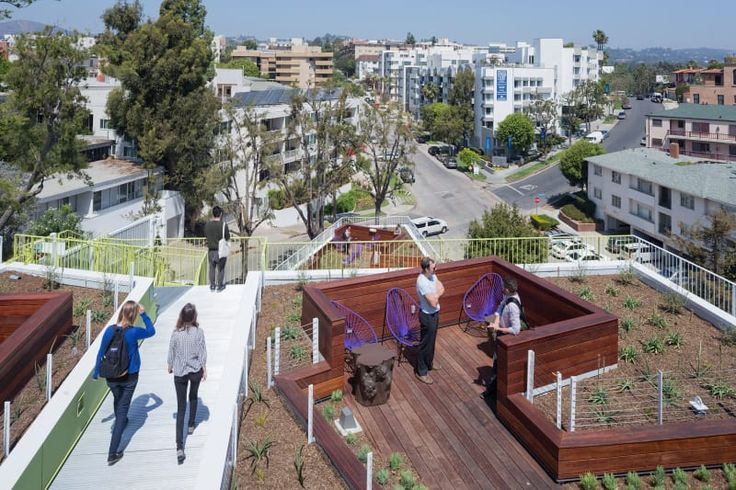LOHA Lorcan O'Herlihy Architects, Iwan Baan · Student and Faculty Housing Complex. Los Angeles