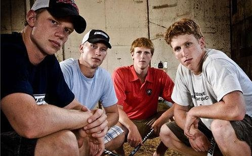 Eric, Jordan, Jared, Marc Staal by Dayten, via Flickr