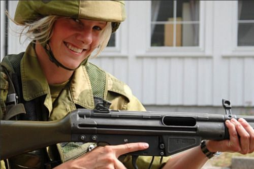 Norwegian army.