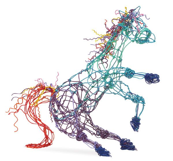 9 best Twitseez Wire Sculpture images on Pinterest | Wire sculptures ...