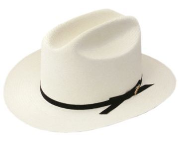 Men's Stetson Straw Hat - The Open Road at MensHats.com