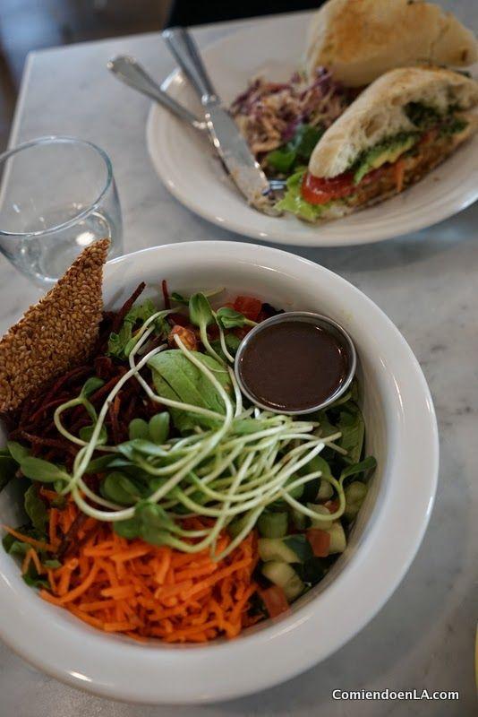 Café Gratitude en Downtown LA