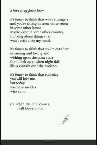 Dear future husband √ | love letters | Pinterest