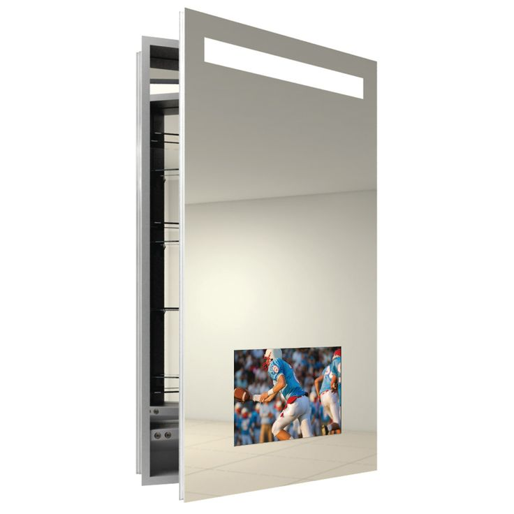 1000 images about medicine cabinet with light on pinterest small mirrors bathroom mirror - Modern medicine cabinets recessed ...