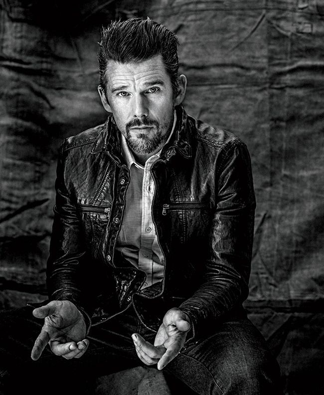Ethan Hawke, photographed by Rainer Hosch for Austin Way magazine, fall 2014.