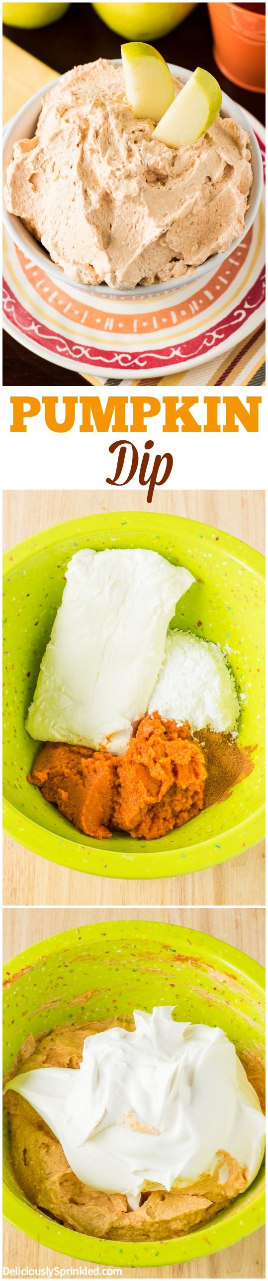 This Pumpkin Dip was a HUGE hit at our party! Everyone LOVED it, can't wait to make it again!