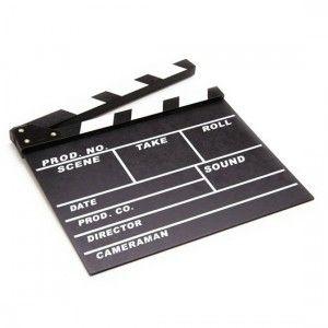 Claqueta Grande de Cine / Large Film Slate · Tienda de Regalos originales UniversOriginal