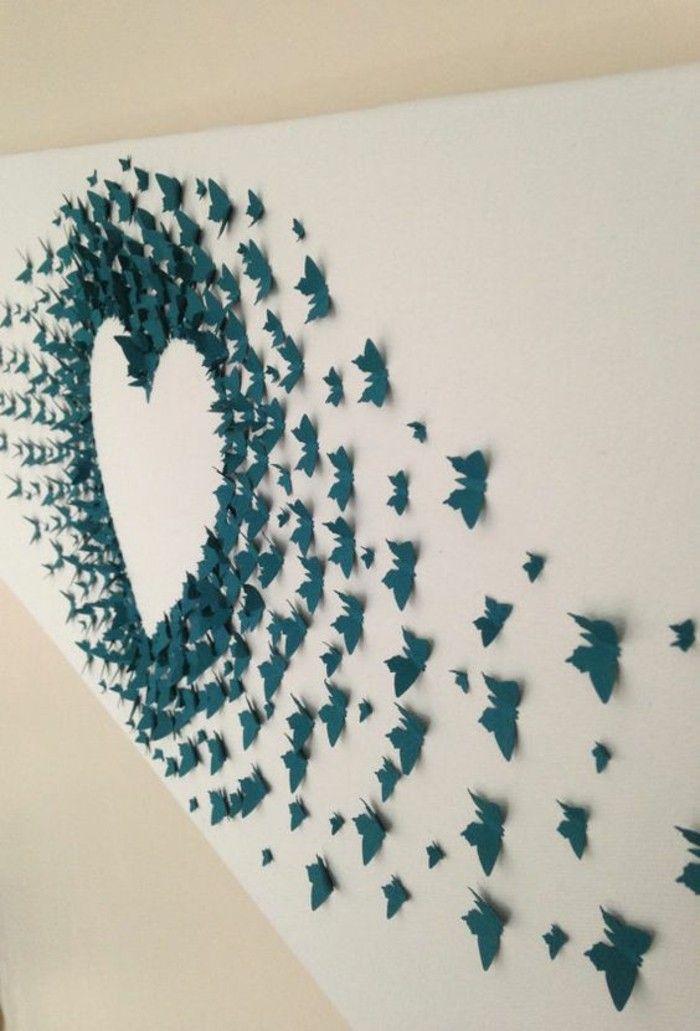 Более 25 лучших идей на тему «Wanddeko selber machen» на Pinterest - wanddekoration selber machen
