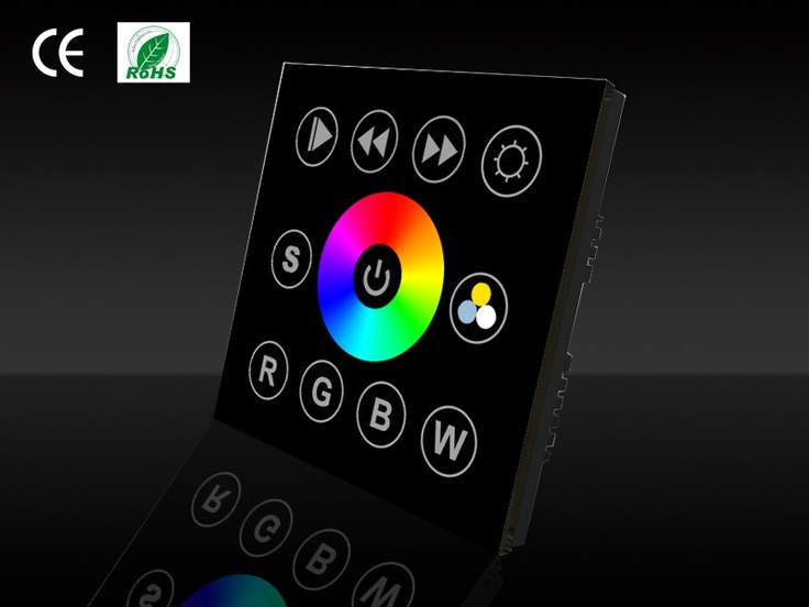 LEDware DMX controller of standalone Wall mounted controllers