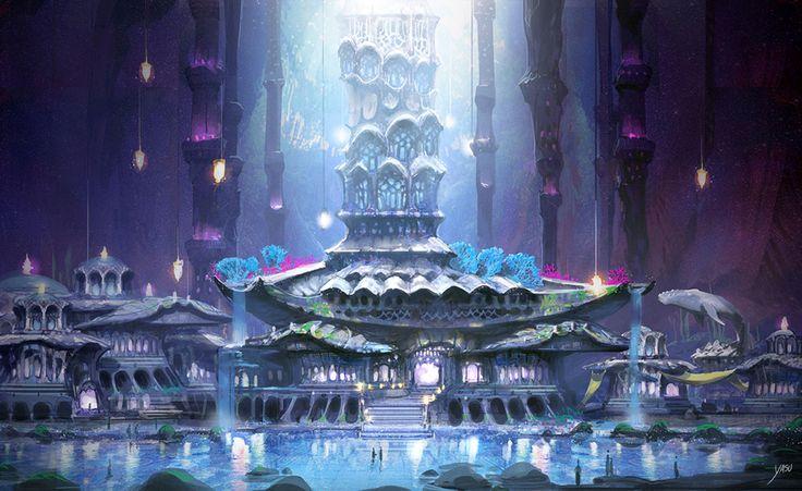 Blessonline_siraka town concept_by yasu
