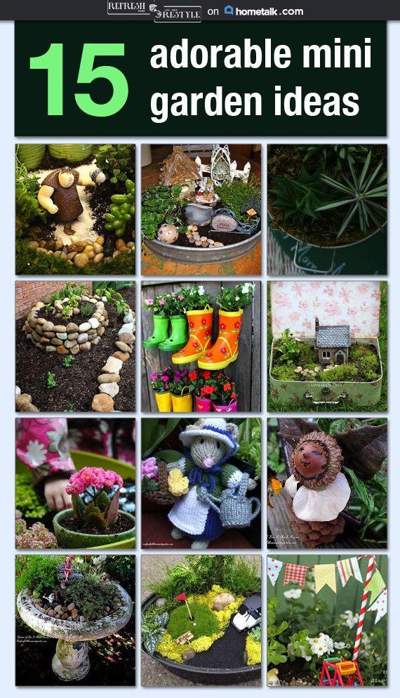 Adorable Mini Garden Ideas | Refresh Restyle