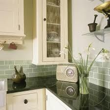 gloss ivory kitchens green walls - Google Search
